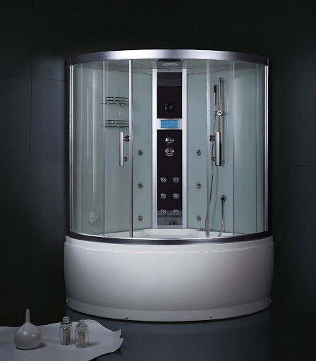 глубокая душевая кабина с ванной купить